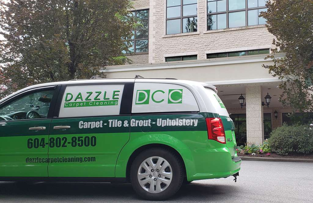 surrey carpet cleaning van